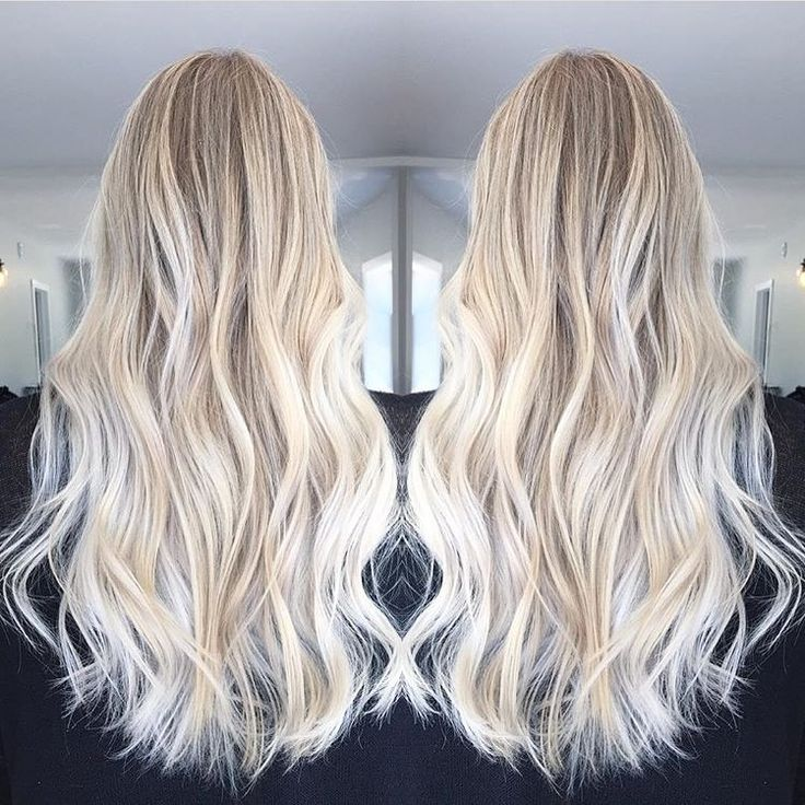 how to get ice blonde hair color