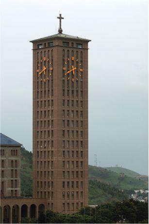 Reloj de torre en Brasil