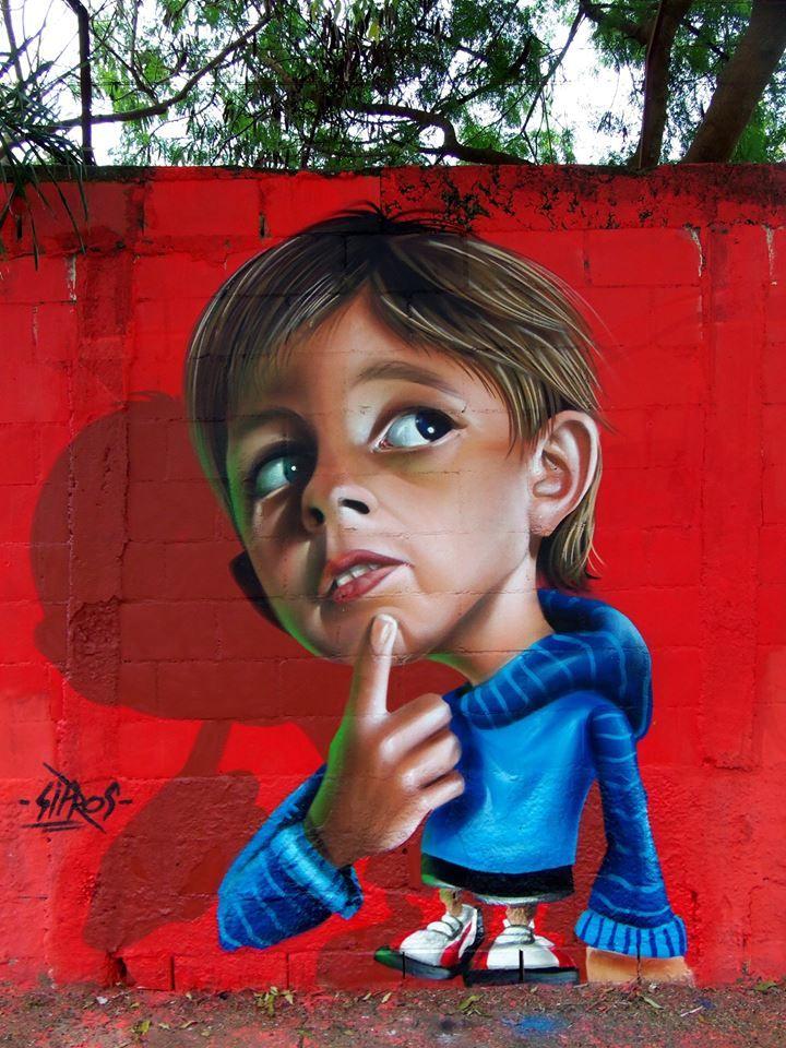 Artist : Sipros graffiti.                                                                                                                                                                                 Mehr