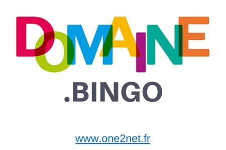 Nom de domaine #BINGO disponible en précommande