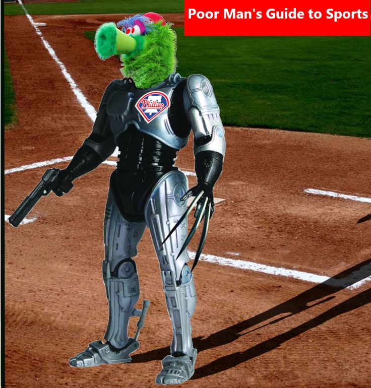 The Phillie Phanatic's New Look is Not Sitting Well with