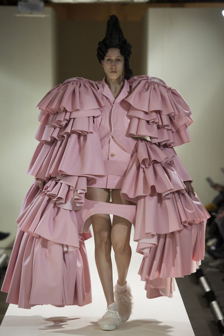 Rei Kawakubo raids the furnishings for what to wear, come the Revolution…