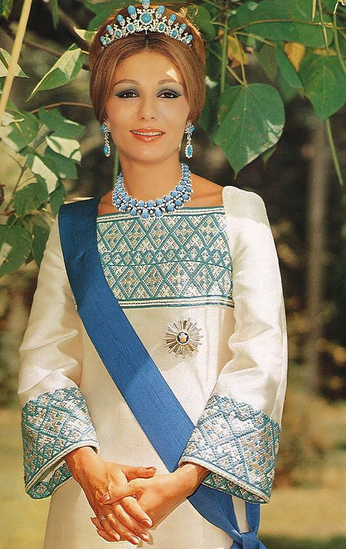 Empress Farah Pahlavi was born on October the only daughter of Sohrab Diba, who passed away when she was only nine vears old. An I..