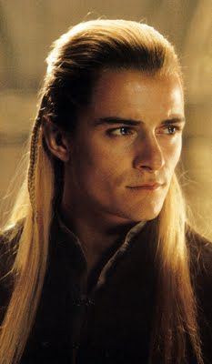 Legolas in The Lord Of The Rings - Orlando Bloom, from Canterbury, Kent, UK.