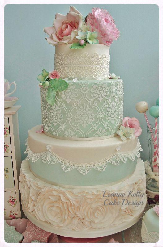 Indian Weddings Inspirations. Green Wedding Cake. Repinned by #indianweddingsmag indianweddingsmag.com #weddingcake