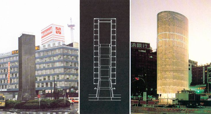 Toyo Ito THE TOWER OF WINDS Yokohama