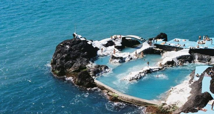 Natural Volcanic Rock Pools || Madeira, Portugal | Rock pools, Natural pool,  Places to see