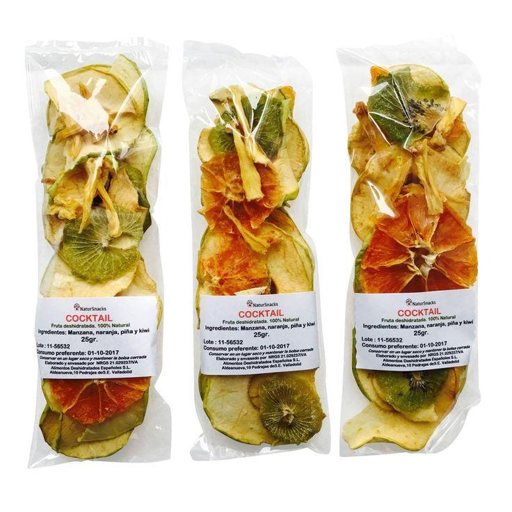 Surtido fruta deshidratada natural (3 bolsas)