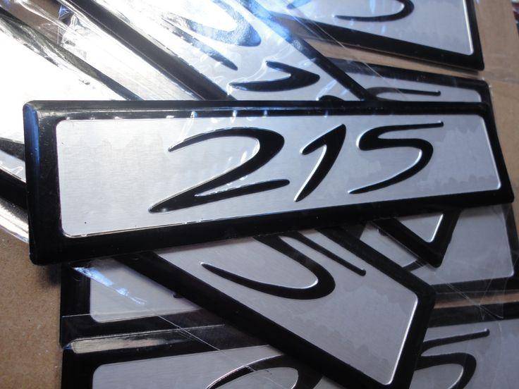 HOLDEN HSV 215 BADGE ENGINE INJECTION CAP ALL NEW EMBLEM
