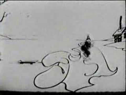 Koko, the clown // Out Of The Inkwell - Modeling (1921) Max Fleischer