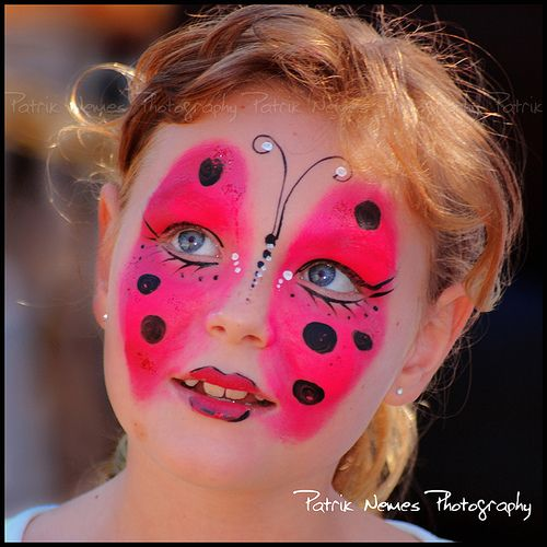 butterfly face painting - Google Search