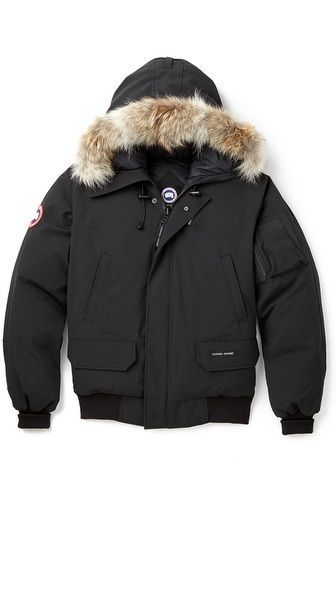 Canada Goose Chilliwack Bomber Jacket with Fur