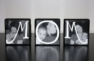 Mother's Day idea!: Mom Gifts, Pictures Gifts, Mothers Day Gifts, Gifts Ideas, Mothers Day Ideas, Photos Blocks, Cute Ideas, Wood Blocks, Photos Letters