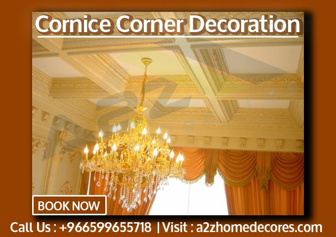 Cornice Corner Ceiling Decoration A2z Home Decores Ceiling Decor Decor Ceiling