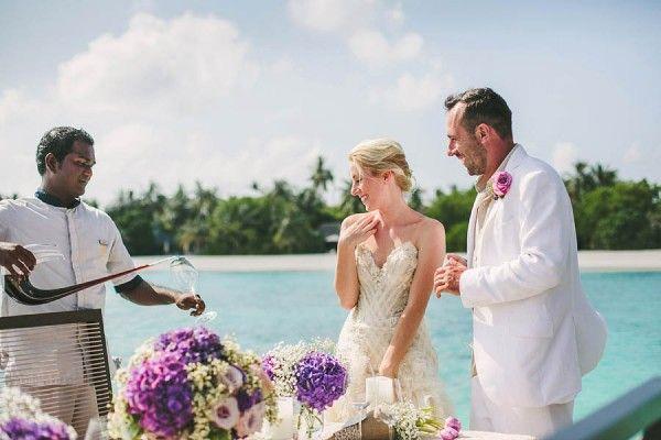 Luxurious Maldives Wedding | Junebug Weddings