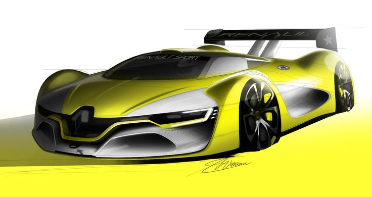 Discover the #design birth of the #Renault Sport R.S. 01 - (c) Renault Design - Droits réservés