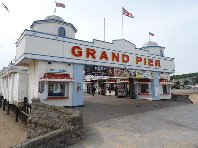 weston super mare pier, nostalgic childhood memories.