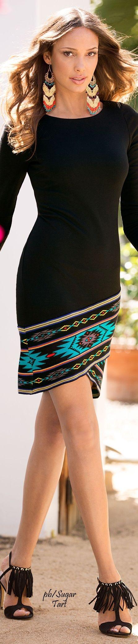 Black Tribal inspired Dress                                                                                                                                                                                 More