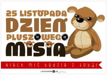 Światowy Dzień Pluszowego Misia - Printoteka.pl