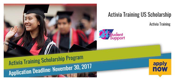 Activia Training US Scholarship