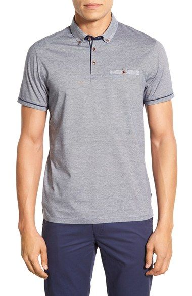 Ted Baker London 'Trynor' Modern Slim Fit Stripe Polo