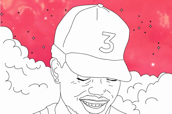 Coloring Book Chance The Rapper Download Beautiful Chance The Rapper S Coloring Book Gets Actual Coloring Coloring Book Chance Coloring Books Chance The Rapper