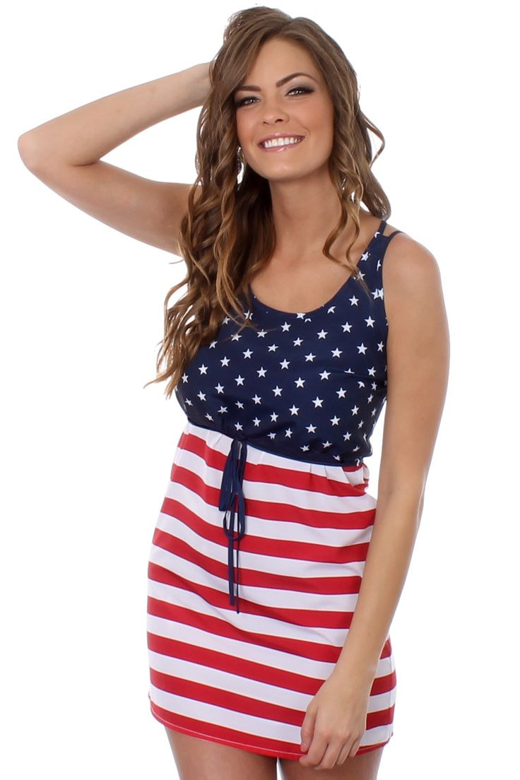 Be the best dressed at this years 4th of July party with one of our American Flag dresses.