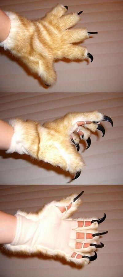 Claw Gloves...I want a pair and Jameson would love this!