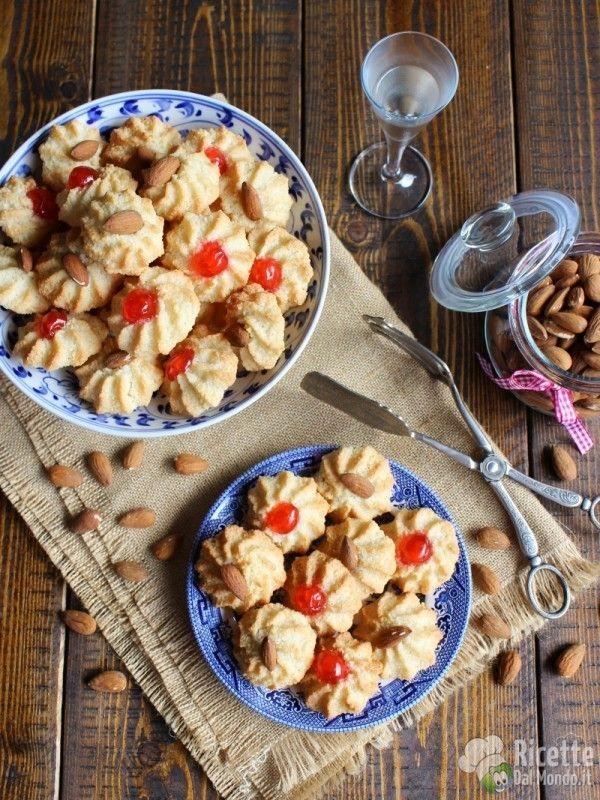 Ricetta pasticcini di pasta di mandorla