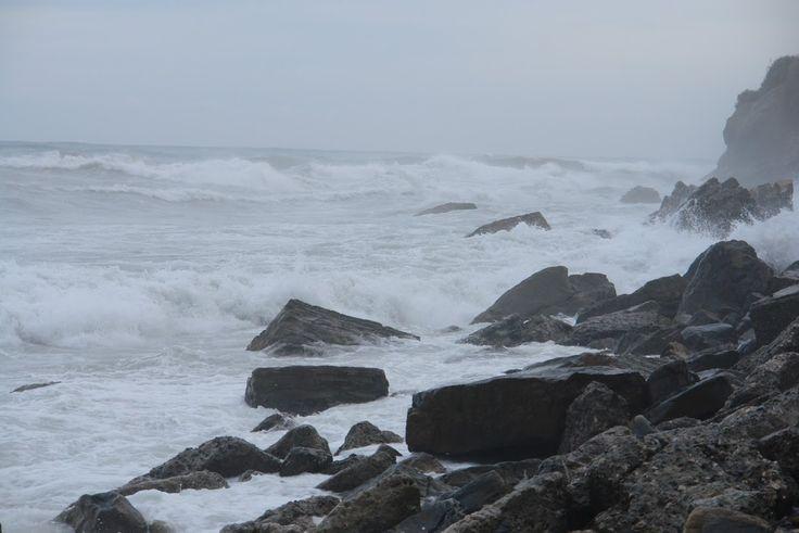 Seashore of Liguria