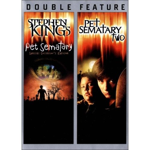 Pet Sematary/Pet Sematary Two [2 Discs] (DVD) - Larger Front