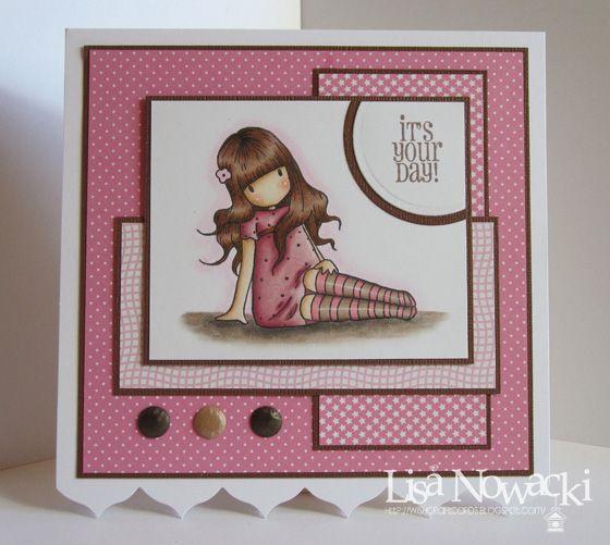 Wishcraft: Pink & Brown Gorjuss Girl
