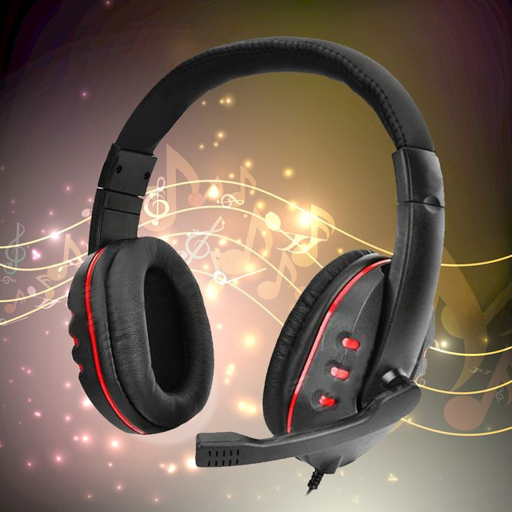 PRO USB Stereo Headphone Microphone with MIC GAME Gaming Headset For PlayStation PS4 PS 4 PC MKLG Gaming Headphones
