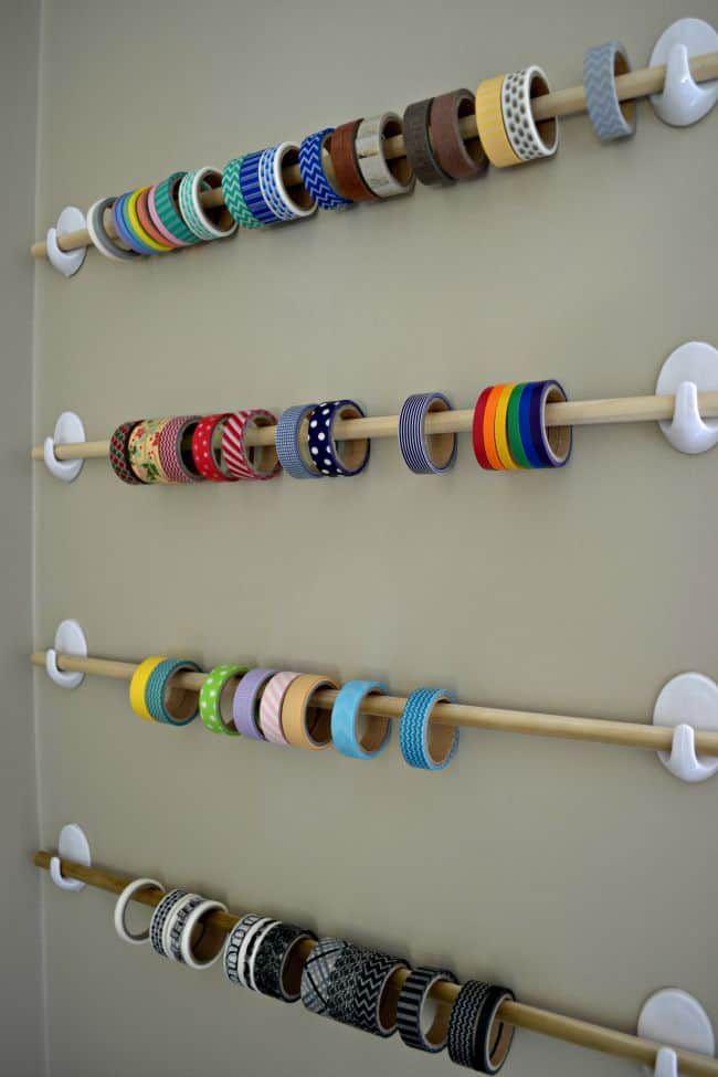 20 Smart Craft Organisation Ideen, um das Beste aus Ihrem Raum herauszuholen