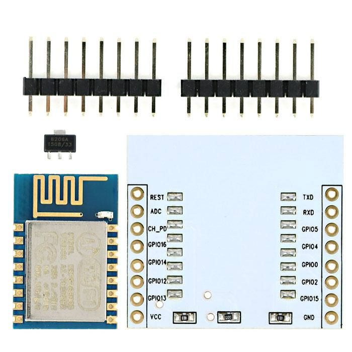 #ESP12 #ESP8266 #Serial #WiFi #Wireless #Module #W #PCB #Antenna # #Adapter #Board #For #Arduino #Raspberry #Pi #Arduino # #SCM #Supplies #Electrical # #Tools #Home #Transmitters # #Receivers Available on Store USA EUROPE AUSTRALIA http://ift.tt/2kGGCq8