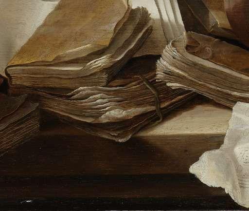 Stilleven met boeken, Jan Davidsz. de Heem, 1625 - 1630 - Jan Davidsz. de Heem - Kunstenaars - Ontdek de collectie - Rijksmuseum