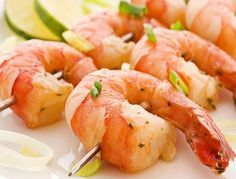Креветки на гриле в цитрусовом маринаде – блюдо для пикника | Идея Меню