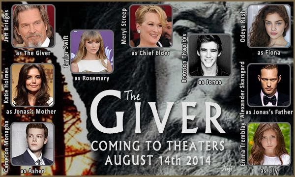 The Giver movie! Words cannot express my excitement.