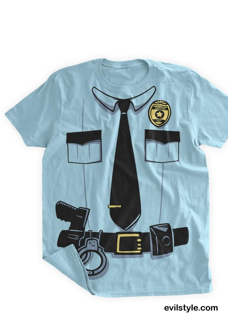 Funny Police Costume Tshirt Funny Police Uniform Cop Uniform Sheriff Officer T shirt Halloween Costume Party Fun Police Badge Gun - http://evilstyle.com/funny-police-costume-tshirt-funny-police-uniform-cop-uniform-sheriff-officer-t-shirt-halloween-costume-party-fun-police-badge-gun