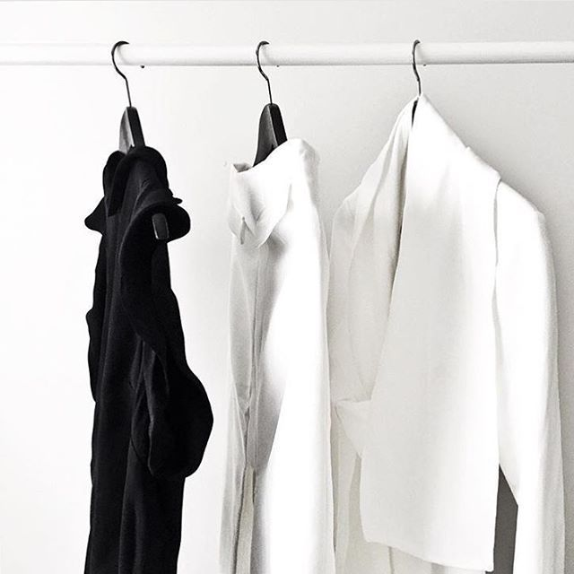 Monochrome : The 'Evolution Jumpsuit' from our upcoming collection Twofold hanging in the wardrobe of the lovely @chantal_li x #finderskeepersthelabel
