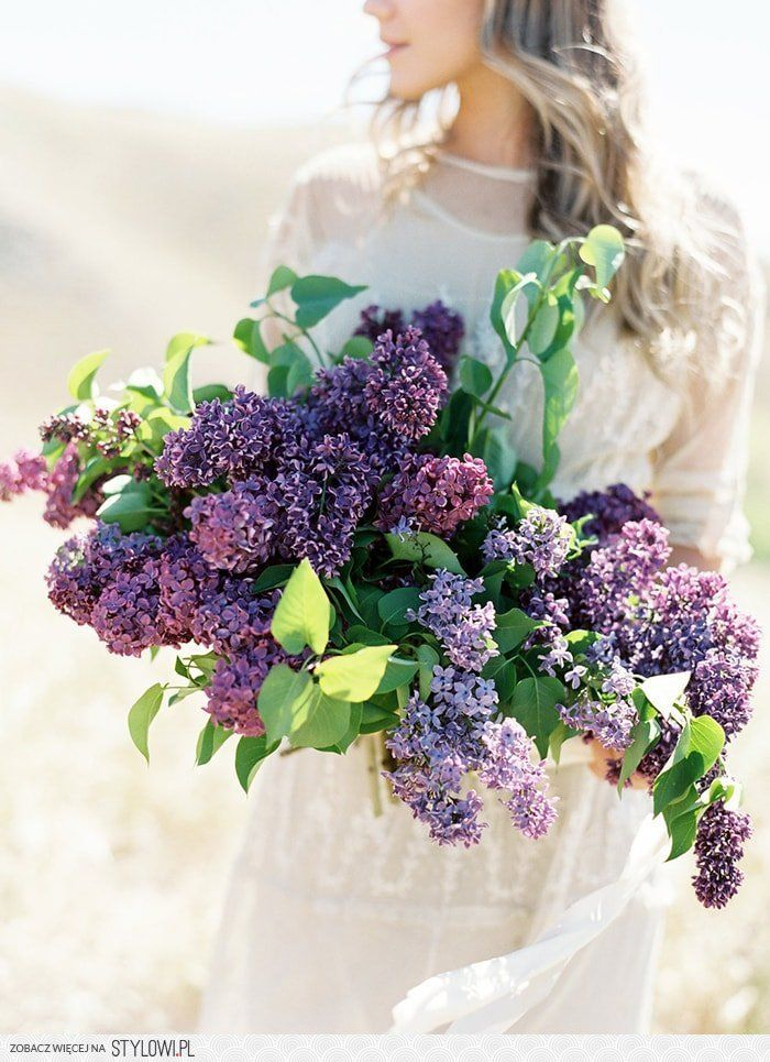 Lilac Wedding Flower Inspiration   Once Wed Na Stylowi.pl