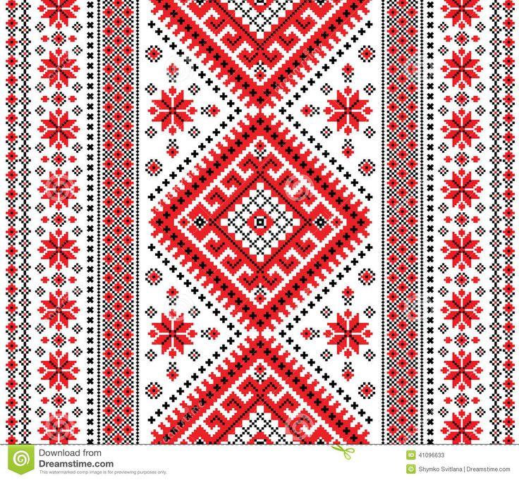 украинский узор вышивка - Поиск в Google