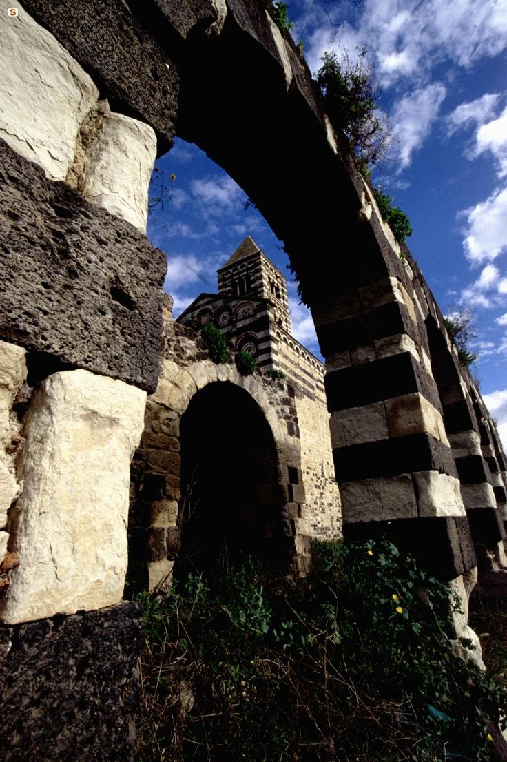 Codrongianos, basilica di Saccargia  Sardinia - Sardegna, Italy