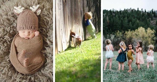 Te dzieciaczki są cudowne! Zobacz zdjęcia, które chwytają za serce!
