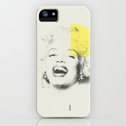 Marilyn Monroe | Esperantos | Dot-file #1 iPhone Case $35