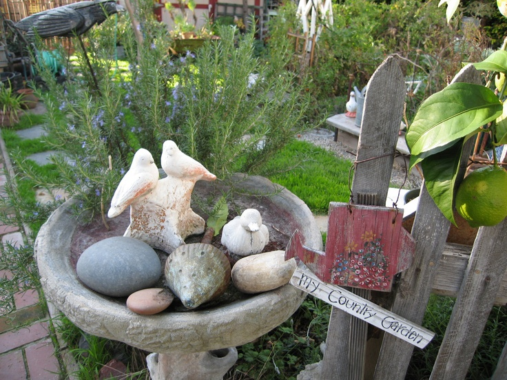 birdbath rocks!