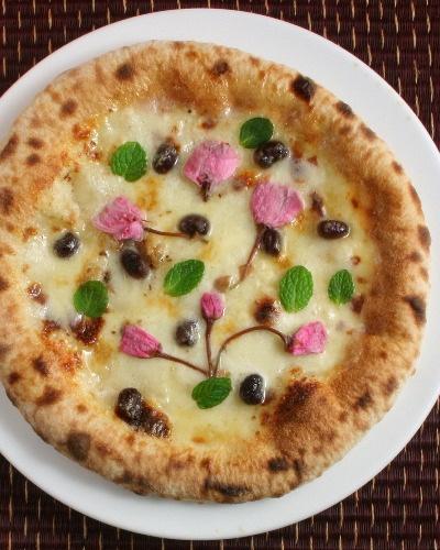 さくら薫るピザ 【Mサイズ】【楽天市場】