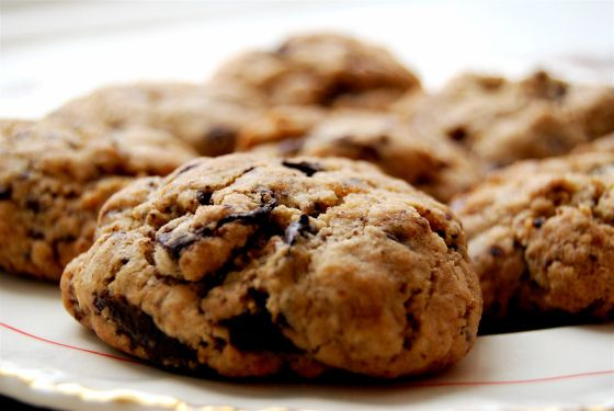 Lavender Chocolate Chunk Cookies