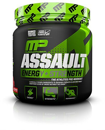 mp assault pre workout