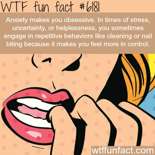 Anxiety - WTF fun facts